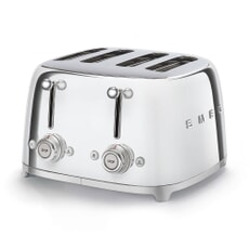 Smeg 50s Retro 4 Slice Toaster Chrome