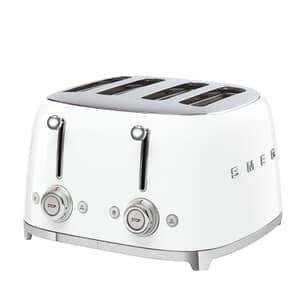 Smeg 50s Retro 4 Slice Toaster White