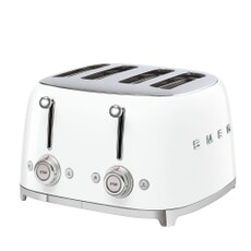 Smeg 50s Retro 4 Slice Toaster White