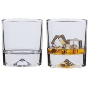 Dartington Dimple Double Old Fashioned Pair