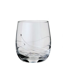 Dartington Glitz Old Fashioned Tumbler Pair