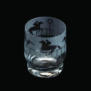 Dartington Aspect Horse Racing Tumbler