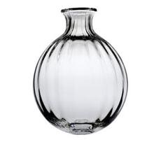 Dartington Orchid Bottle Vase Optic