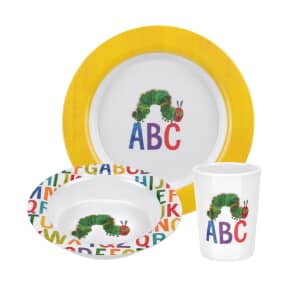 Portmeirion The Very Hungry Caterpillar 3 Piece Melamine Set