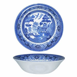 Blue Willow - Scollop Bowl Set Of 4