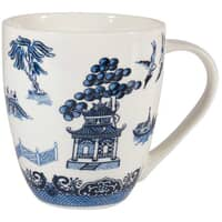 Blue Willow - Crush Mug White