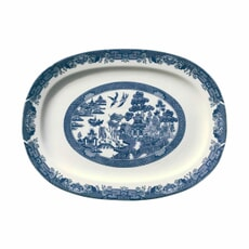 Blue Willow - Oval Platter 47cm