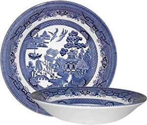 Blue Willow - Coupe Bowl Set Of 4