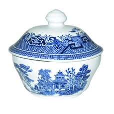 Blue Willow - Covered Sugar Bowl