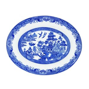 Blue Willow - Oval Dish 31cm