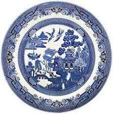 Blue Willow - Side Plate Set Of 4