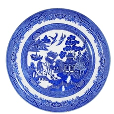 Blue Willow - Dinner Plate Set Of 4