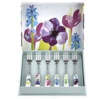 Portmeirion Water Garden - Pastry Forks Set Of 6