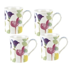 Portmeirion Water Garden - Set Of 4 Mugs
