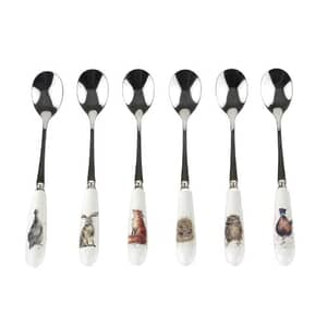 Wrendale Teaspoons Set Of 6
