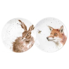 Wrendale Coupe Plates Set Of 2