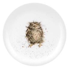 Wrendale 8inch Coupe Plate What A Hoot