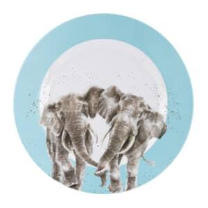Wrendale Melamine Elephant Dinner Plate