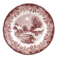 Spode Winters Scene Tea Plate