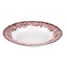 Spode Winters Scene Soup Plate