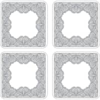 Portmeirion Catherine Lansfield - Glamour Lace Coasters Set Of 4