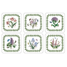 Portmeirion Botanic Garden - Botanic Garden Coasters Set Of 6