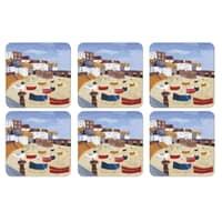 Portmeirion Pimpernel - St Ives Windbreak Coaster Set Of 6