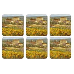 Portmeirion Pimpernel - Tuscany Coasters Set Of 6