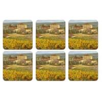 Portmeirion Pimpernel - Tuscany Coasters Set Of 6
