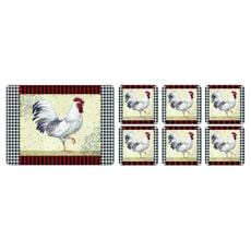 Portmeirion Pimpernel - Country Touch Coasters Set Of 6