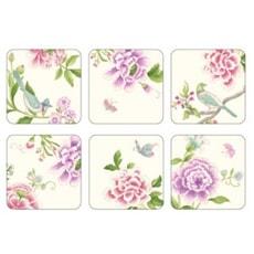 Sanderson Porcelain Garden - Coasters Set Of 6