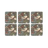 Spode Strawberry Thief - Coasters Set Of 6