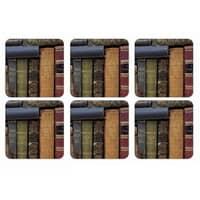 Portmeirion Pimpernel - Archive Books Coasters Set Of 6