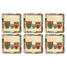 Portmeirion Pimpernel - Spice Road Coasters Set Of 6