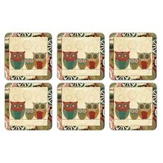 Portmeirion Pimpernel - Spice Road Coasters Set Of 6