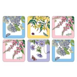 Portmeirion Botanic Garden - Terrace Coasters Set Of 6