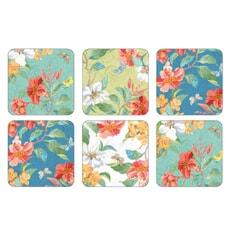 Portmeirion Maui Coasters Set Of 6