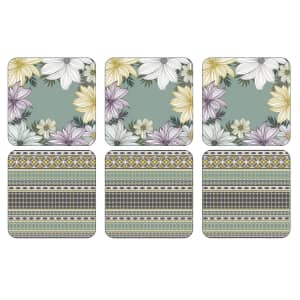 Portmeirion Atrium Coasters Set Of 6