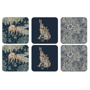 Portmeirion Pimpernel - Morris And Co Wightwick Coasters Set Of 6