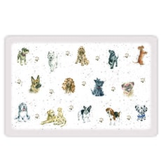 Wrendale Dogs Plastic Pet Placemet