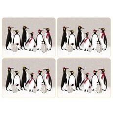 Sara Miller Penguin Christmas Collection - Placemats Set Of 4