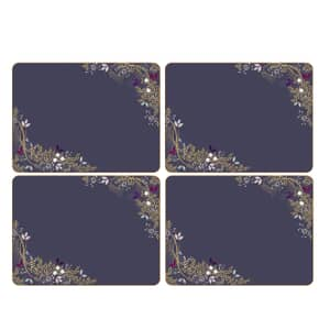 Sara Miller Garland Christmas - Placemats Set Of 4