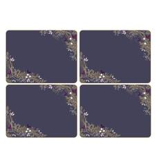 Sara Miller Garland Christmas - Placemats Set Of 4