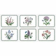 Portmeirion Botanic Garden - Botanic Garden Rect P/mats Set Of 6