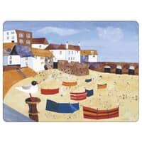 Portmeirion Pimpernel - St Ives Windbreak Placemats Set Of 6