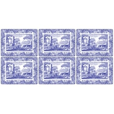 Spode Blue Italian - Placemats Set Of 6
