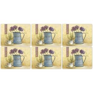 Portmeirion Pimpernel - Cafe Des Fleurs Placemats Set Of 6