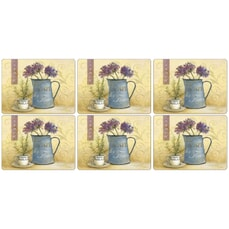 Portmeirion Pimpernel - Cafe Des Fleurs Placemats Set Of 6