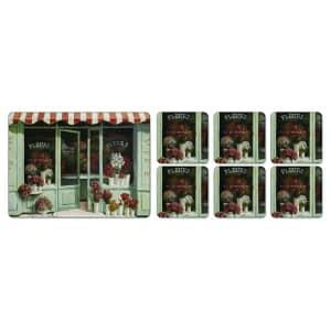 Portmeirion Pimpernel - Le Fleuriste Placemats Set Of 6