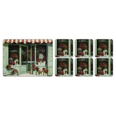 Portmeirion Pimpernel - Le Fleuriste Placemats Set Of 6